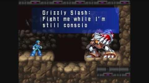 MegaMan X5 Grizzly Slash