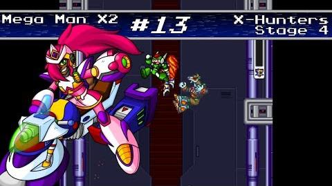 Mega Man X2 - X-Hunter Fortress Stage 4