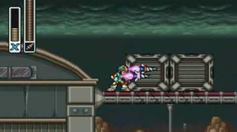 Mega Man X3 - Blast Hornet Stage Abandoned Armory