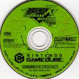 Rockman x command mission label