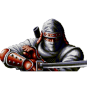 Joe Musashi Shinobi III centered sprite