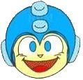 Mega Man Sonriendo sin fondo