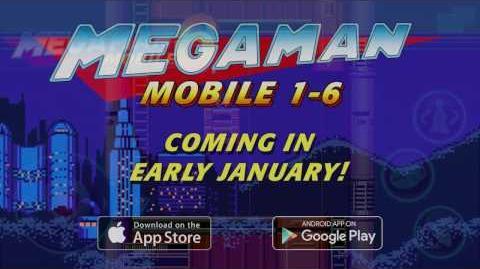 Avance de Mega Man Mobile hecho por Capcom