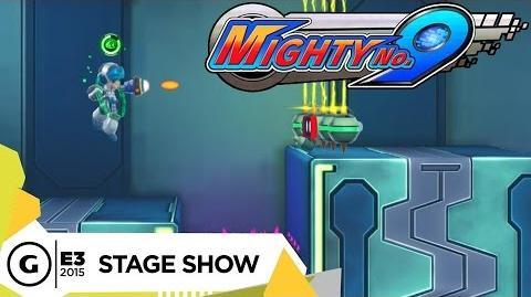 Meta dragon/Mega Man y Mighty No. 9 en la E3