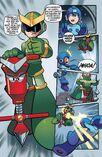 Aparicionde Quint en MM Archie Comics