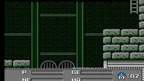 Mega Man 3 - Wily's Fortress Stage 1