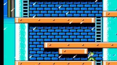Mega Man 4 - Dr. Cossack's Fortress Stage 1