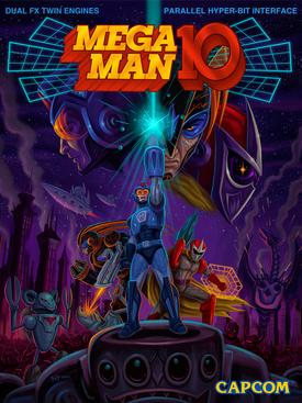 Megaman 10 portada