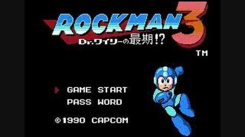 Mega Man 3- Title