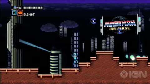 Megaman universe gameplay(real)