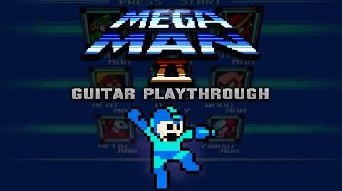 Mega Man 2 Guitar Playthrough 2017 (COMPLETE)