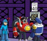 Mega Man 10 Nitro Man Drawing by Espiownage