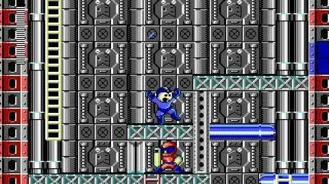 Mega Man 3 PC DOS Stage 5 - Oil Man