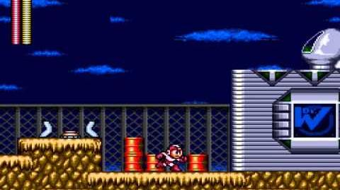 Mega Man 2 The Wily Wars Part 9 - Mecha Dragon (Wily Castle 1)