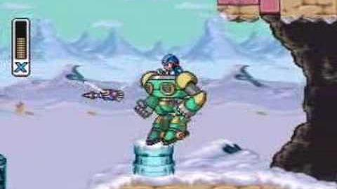 Mega Man X-Chill Penguin