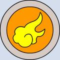 007 emblema fuego