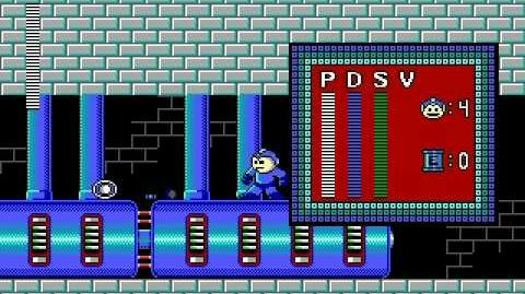 Mega Man PC DOS Stage 4 - Volt Man