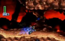 Magma Dragoon escena