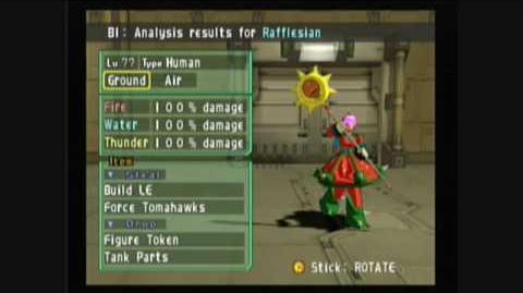 Megaman X Command Mission - Rafflesian