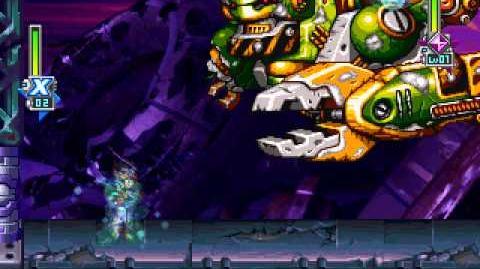Megaman X6 - D-1000 Crash Site Ruins(Beginning)
