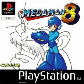 MegaMan8PSXCarátulaEuropea