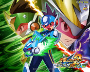 Ryusei no Rockman 2 Art 02