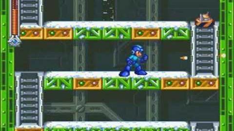 Mega Man & Bass - Cold Man Stage City at Winter (Mega Man)