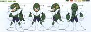 DWN022-SnakeMan-Especificaciones