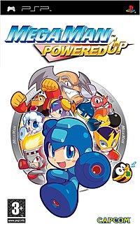 Mega Man Powered Up cover art