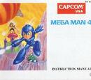Manual de Mega Man 4