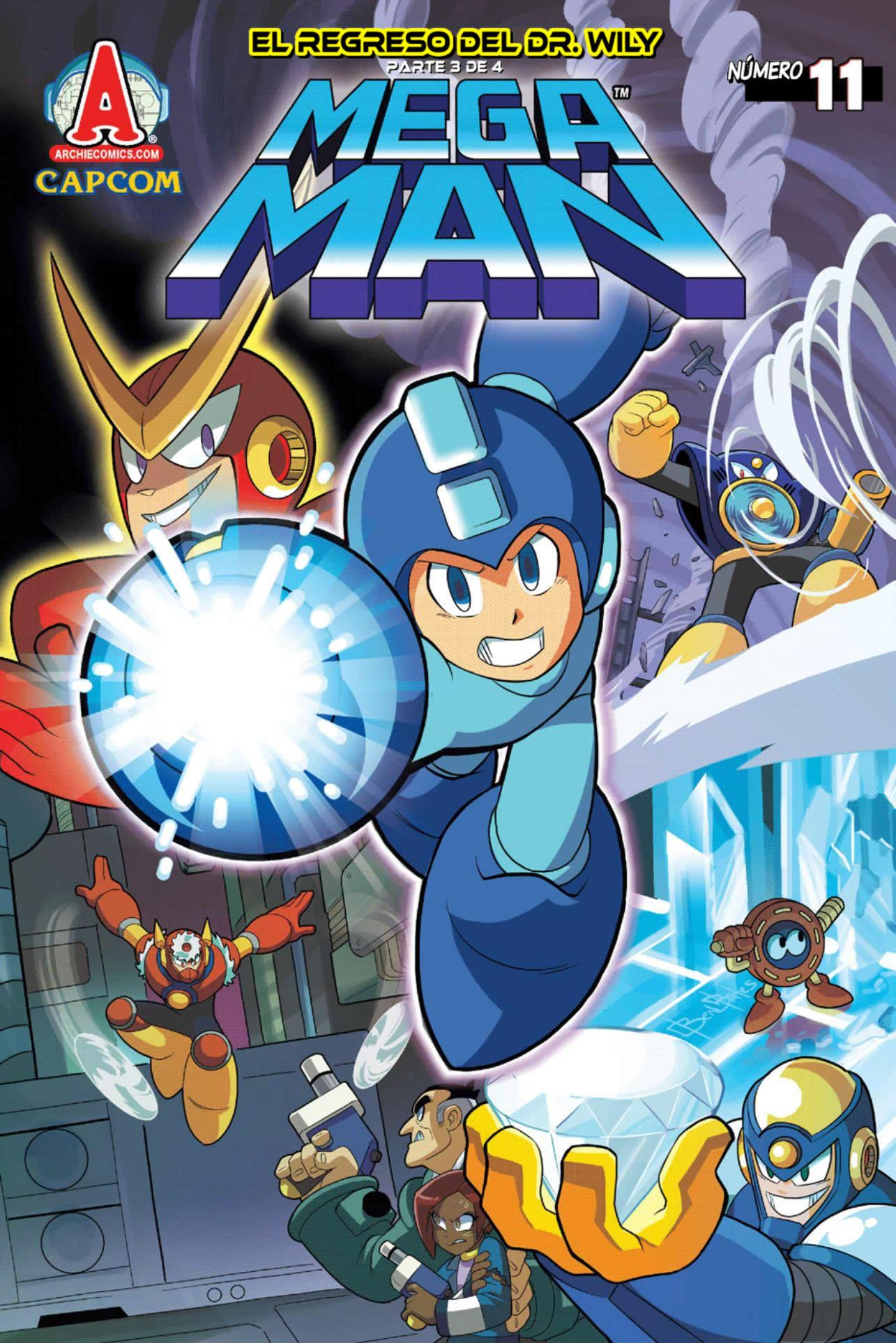 Mega man no 011 mega man hq fandom powered by wikia - Megaman wikia ...