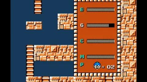 Mega Man 1 - How to get the Magnet Beam in Elec Man's stage