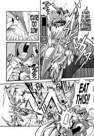 Hivolt en el Manga de ZX