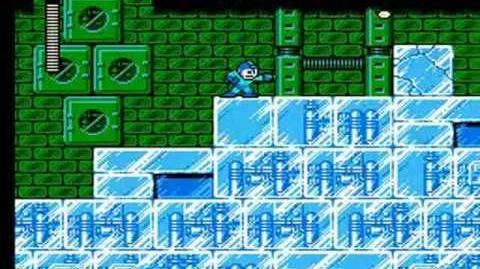 Mega Man 6 - Blizzard Man Stage Frozen Island
