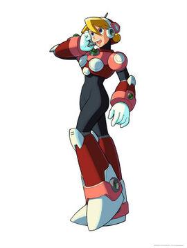 MM006~Mega-Man-X5-Alia-Posters