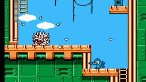 Mega Man 3 - Needle Man's Stage