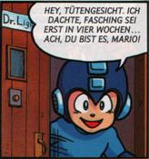 Mega Man club comic