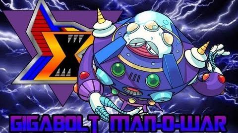 Mega Man X8 Gigabolt Man-O-War