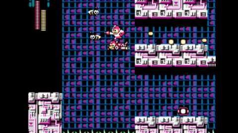 MegaMan 3 Walkthrough - Part 15 Wily Castle Stage 2 (Boss Yellow Devil MkII)