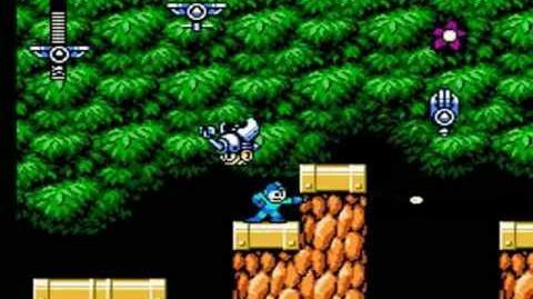 Mega Man 6 - Plant Man Stage Forgotten Area