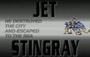 Jet stingray present