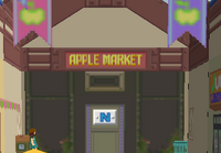 Apple Market.