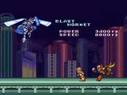 Blast hornet ending