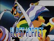 Blast hornet present