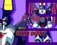 Dark Dizzy present