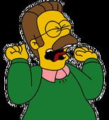 Flanders gritando