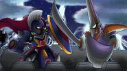 Blade Man vs Knight Man FIX by radlionheart