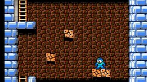 Mega Man 5 - Dark Man's Fortress Stage 1