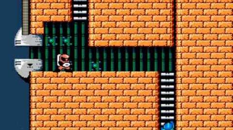 Mega Man 2 - Wily's Fortress Stage 1