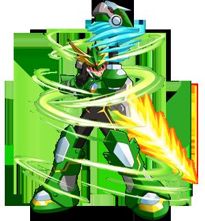 megaman zerker x ninja